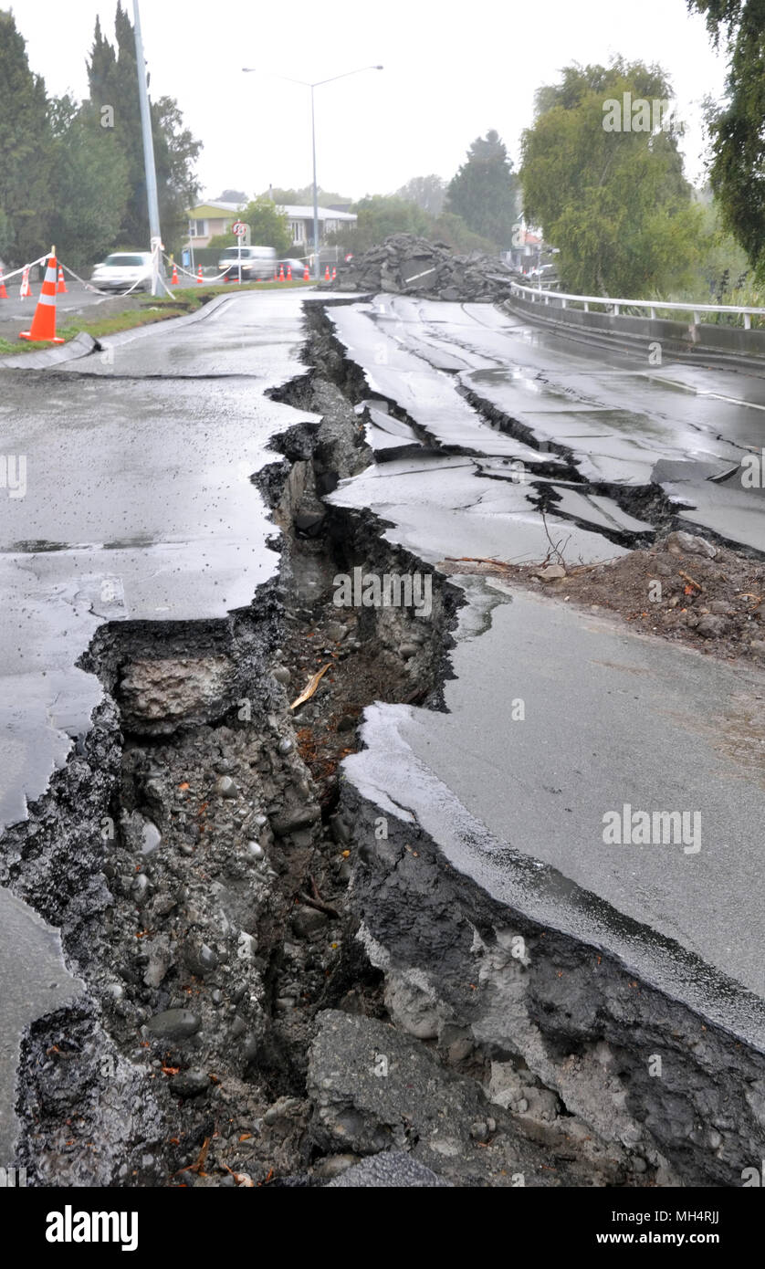 result of earthquake
