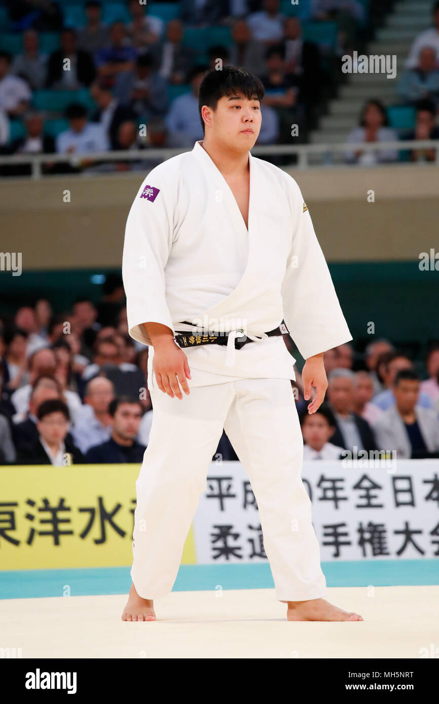 Yusei Ogawa, APRIL 29, 2018 Judo : 2018 All Japan Judo Championships