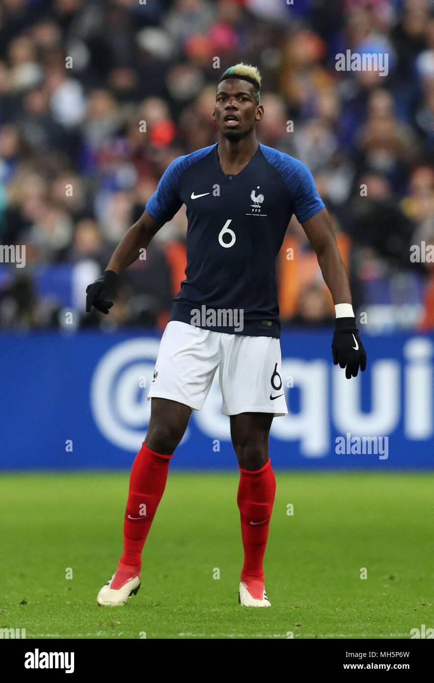 Paul Pogba (FRA), MARCH 23, 2018 - Football/Soccer ...