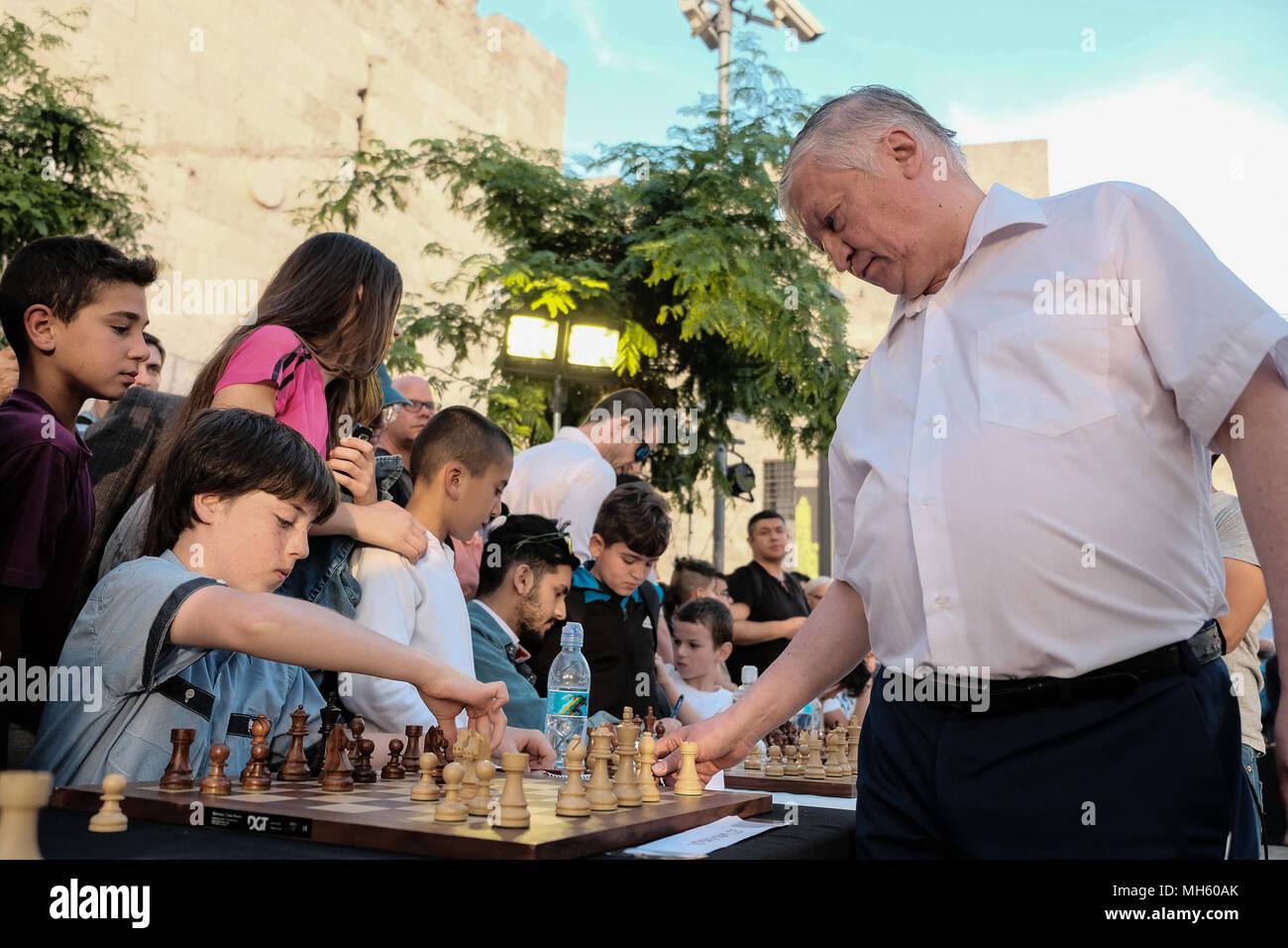 Russian Chess Player Stock Photos Russian Chess Player Stock