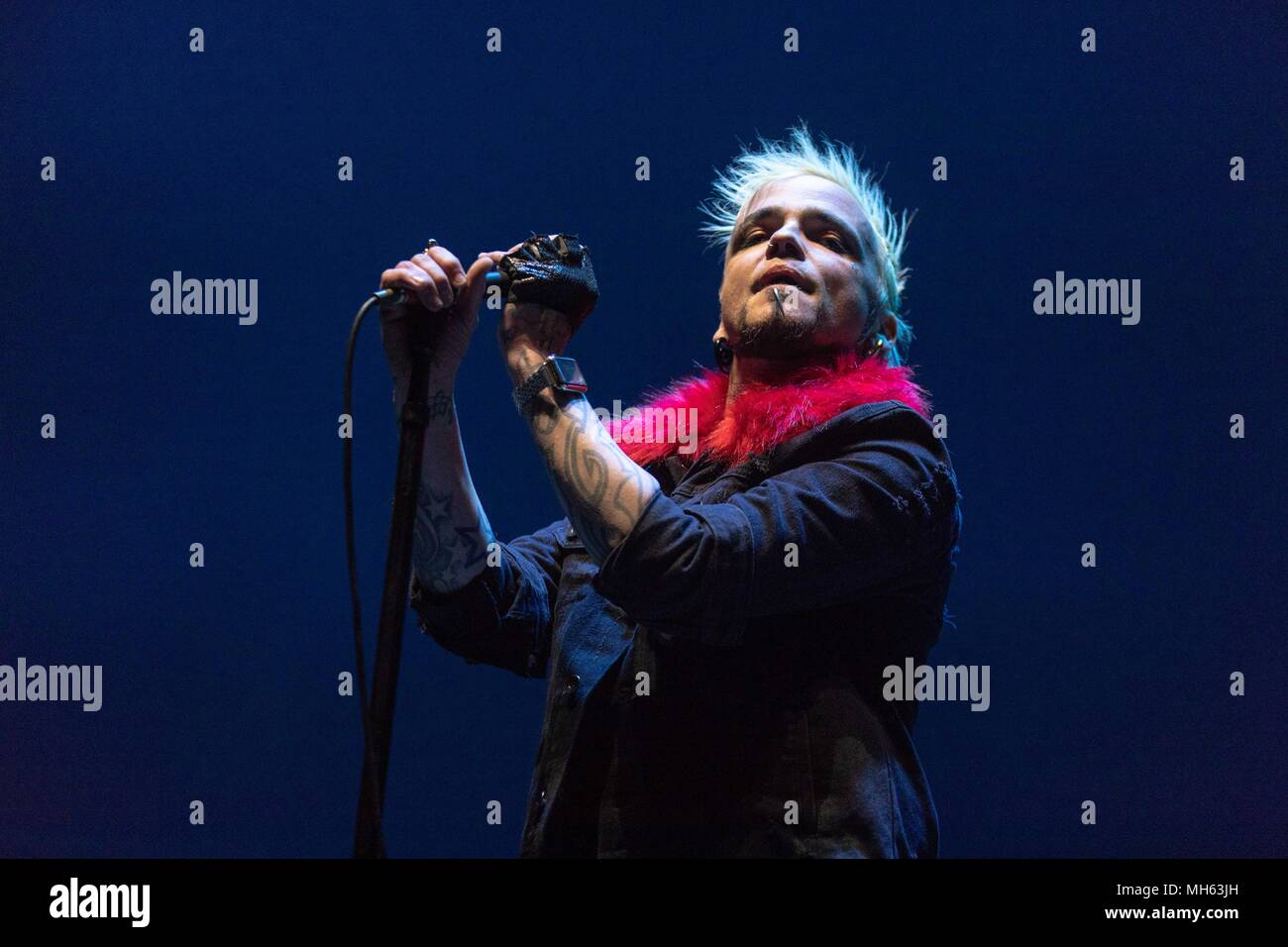 Milwaukee Wisconsin Usa 29th Apr 2018 Lukas Rossi Of Stereo Wiring A New House For Satellite During The This Is Not Sale Tour At Bradley Center In Credit Daniel Deslover Zuma Wire Alamy
