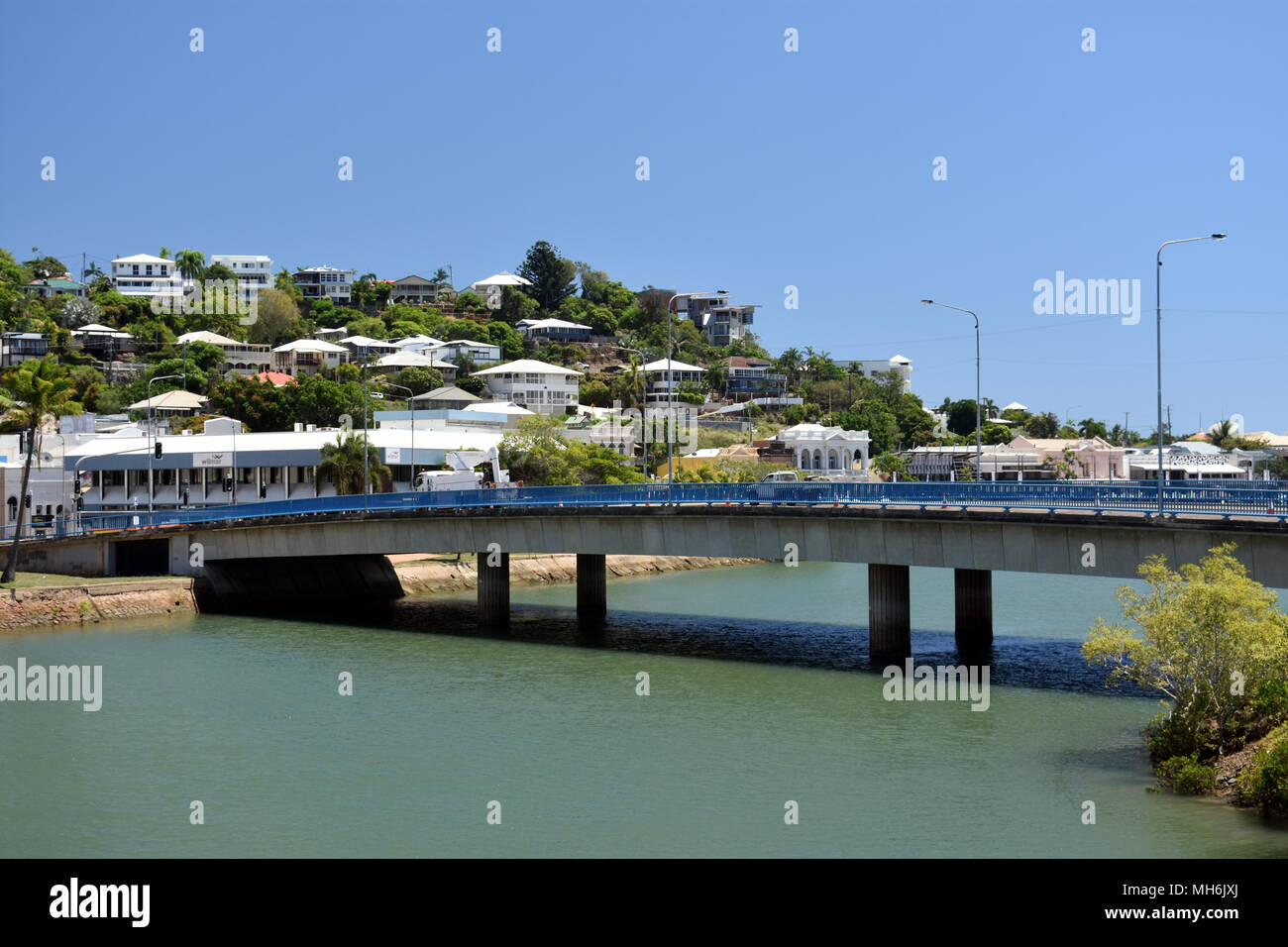 Bridge From Townsville To Magnetic Island