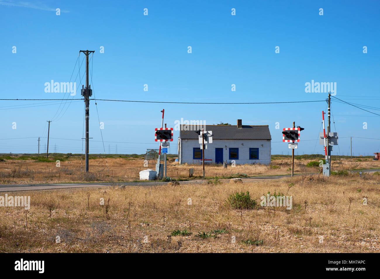 Romney, Hythe and Dymchurch Railway in Dungeness in Kent England UK ...
