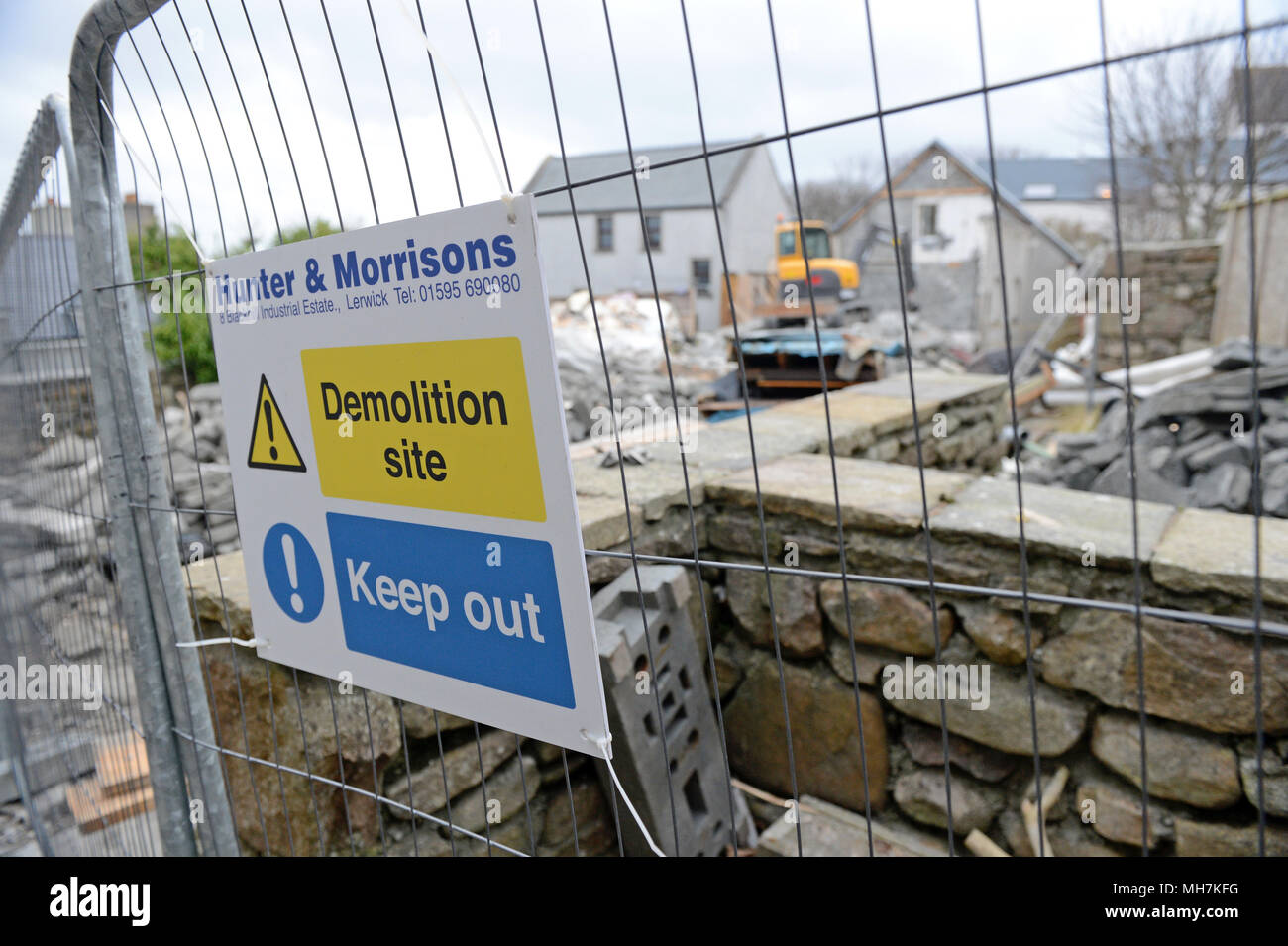 Demolition Sign Stock Photos Amp Demolition Sign Stock