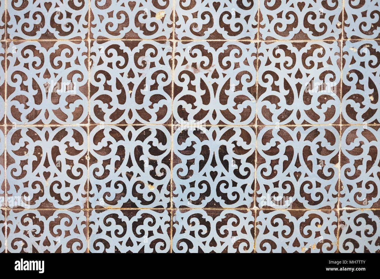 Typical portuguese decorations on a wall with colored ceramic tiles typical portuguese decorations on a wall with colored ceramic tiles traditional mosaic tiles azulejos stock photo 182726011 alamy dailygadgetfo Images