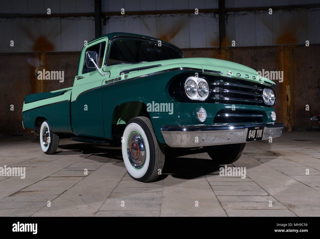 1950s Dodge Stock Photos Images Alamy 1949 D100 Truck 1958 Sweptside Classic American Pickup Image