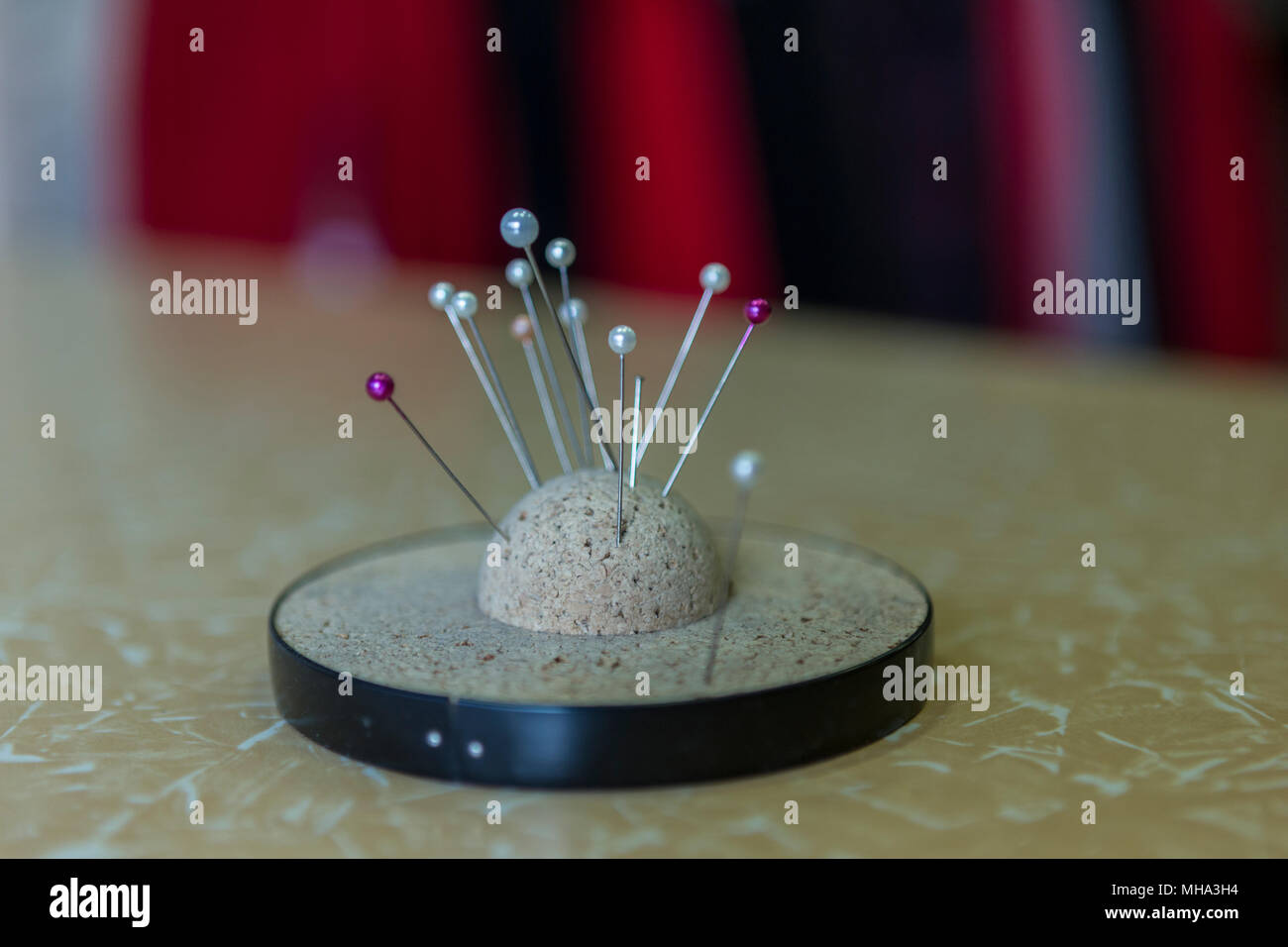 Pins - Stock Image