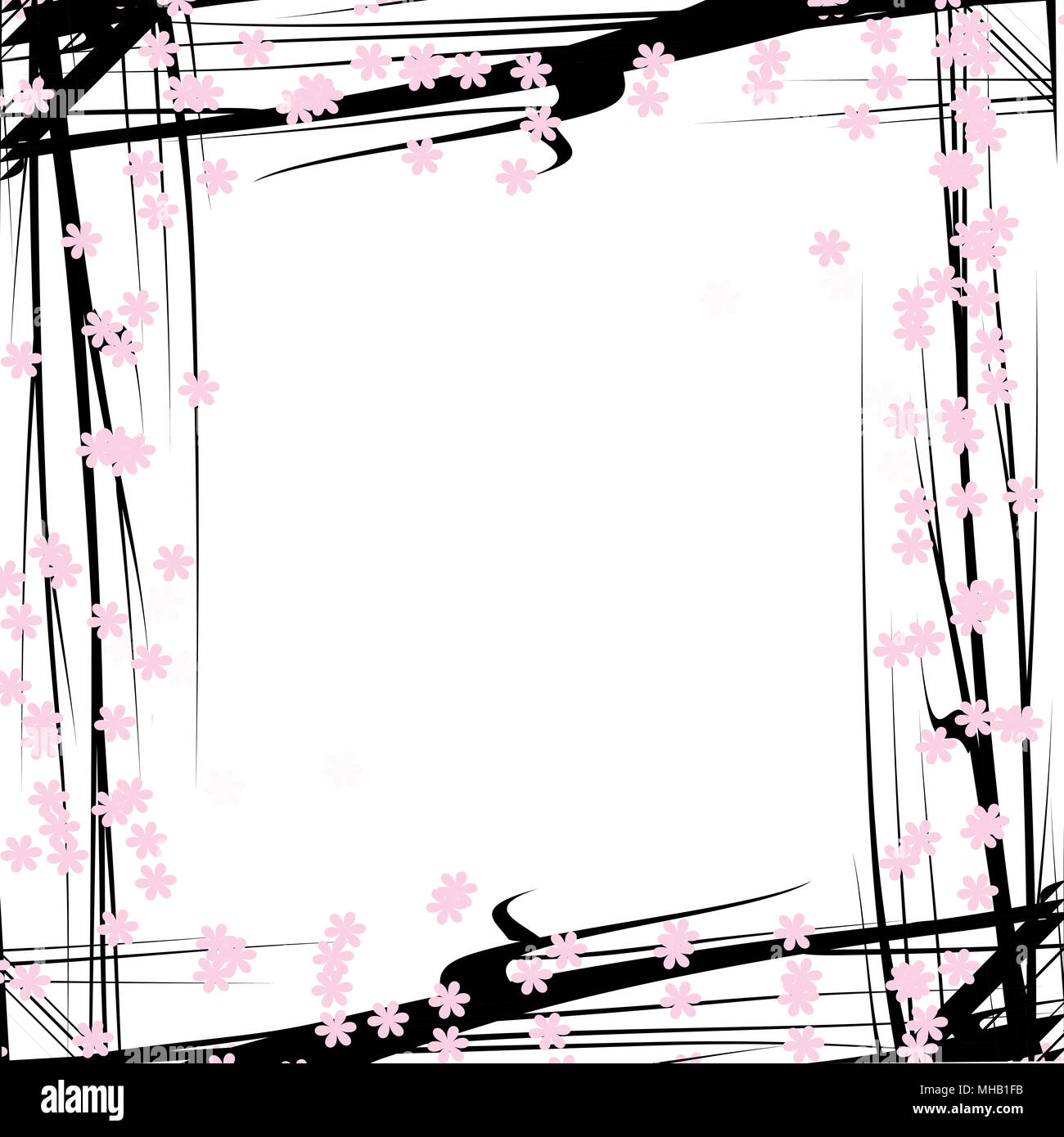 wooden frame for painting or picture on white background. Gold frame ...