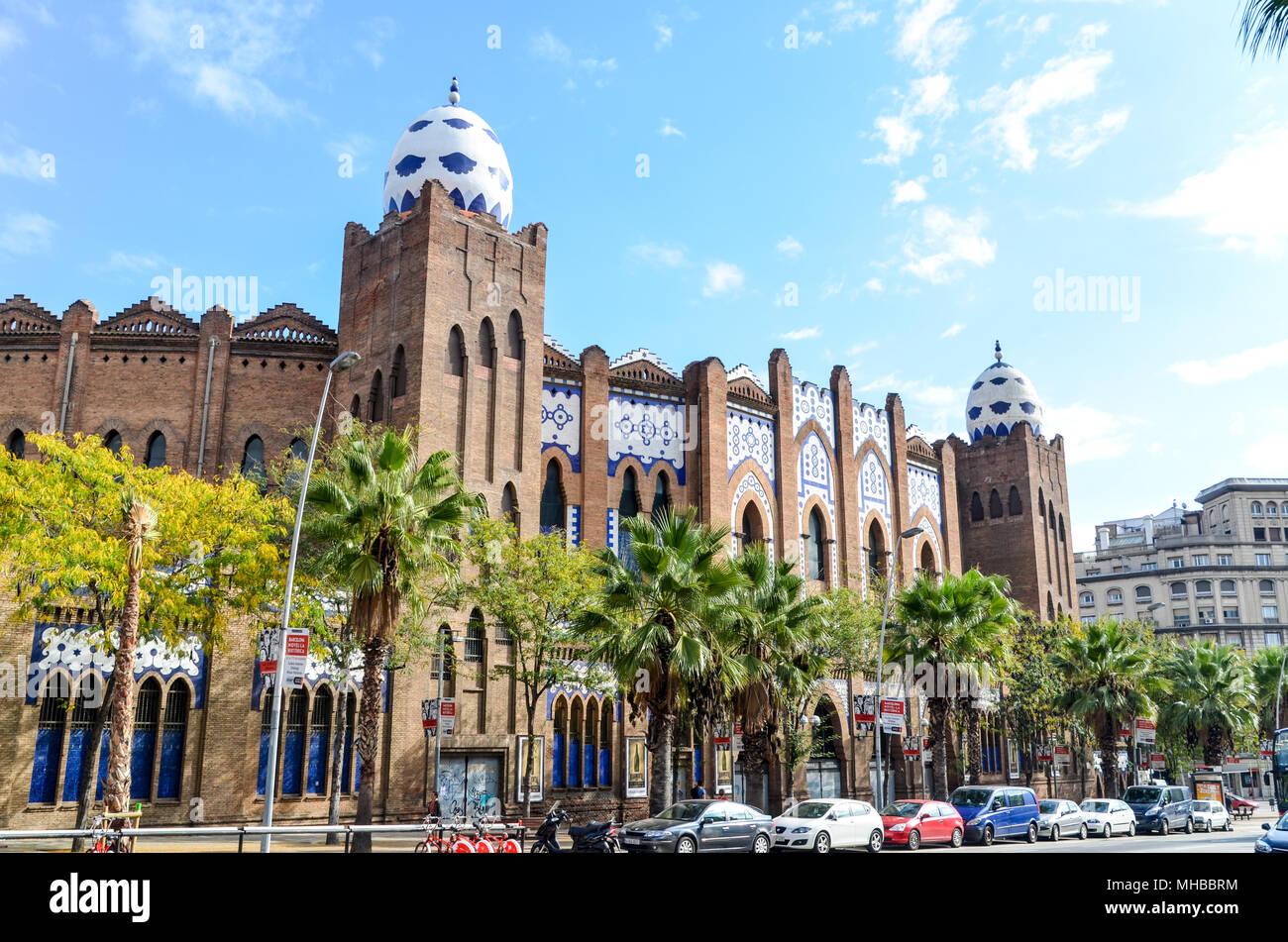 La Monumental arena, Barcelona, Spain - Stock Image
