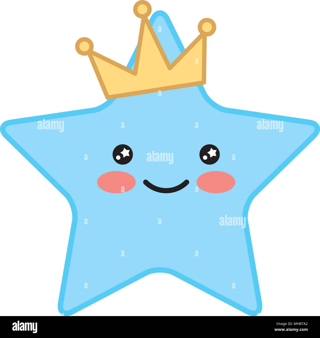 Kawaii Happy Star With Crown Cartoon Vector Illustration Stock Vector Image Art Alamy Mature audiences ages 17+ recommended. https www alamy com kawaii happy star with crown cartoon vector illustration image182813402 html