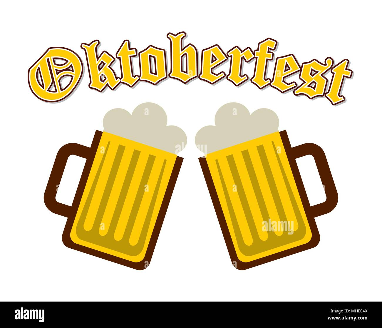 welcome oktoberfest  - Stock Image