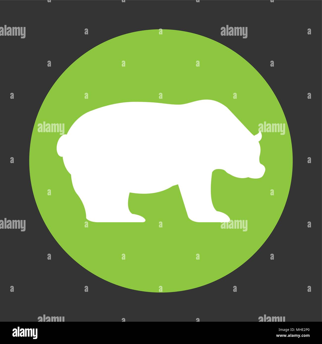 stock exchange symbol Stock Vector