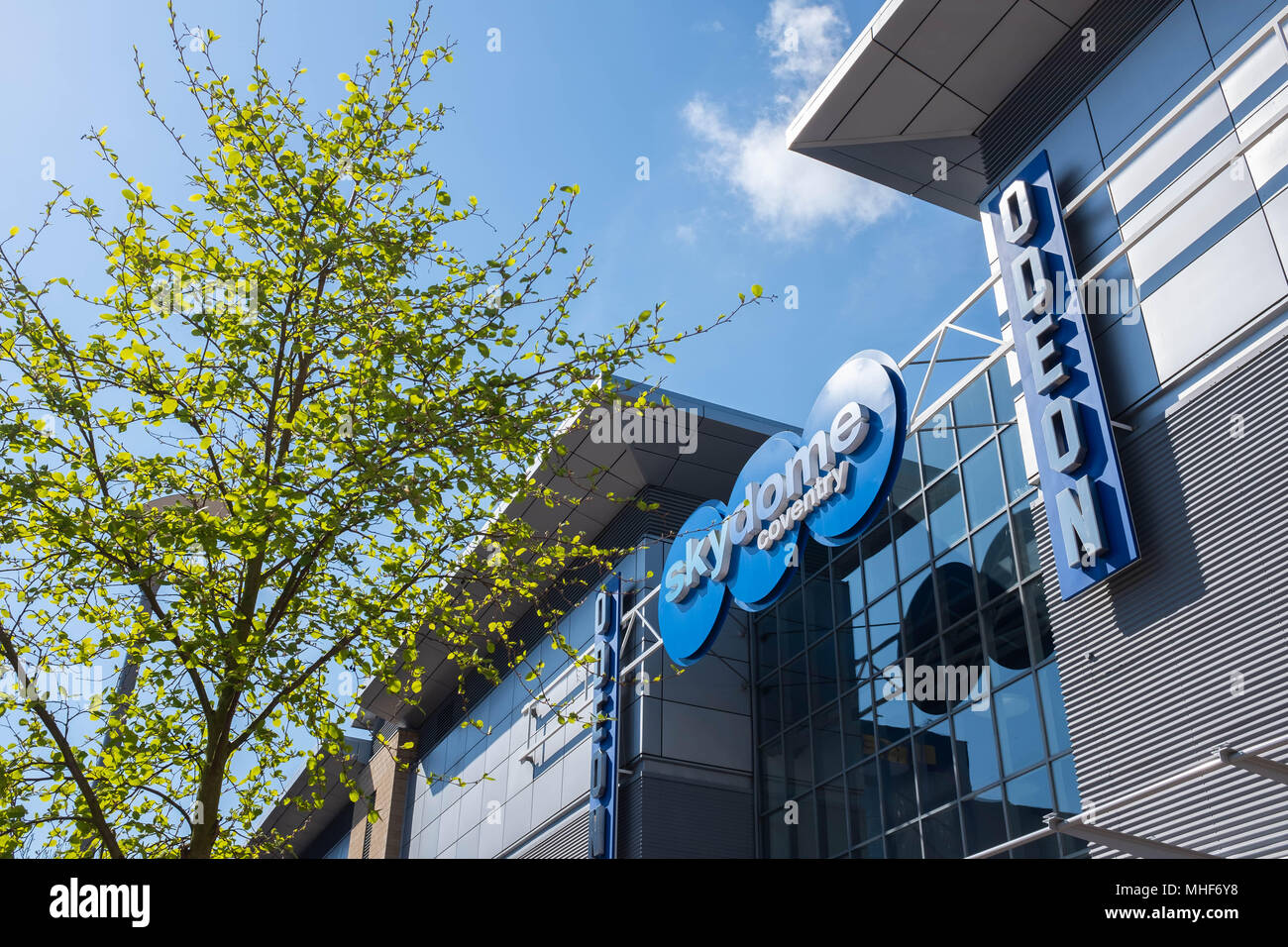 Skydome, Coventry city centre - Stock Image
