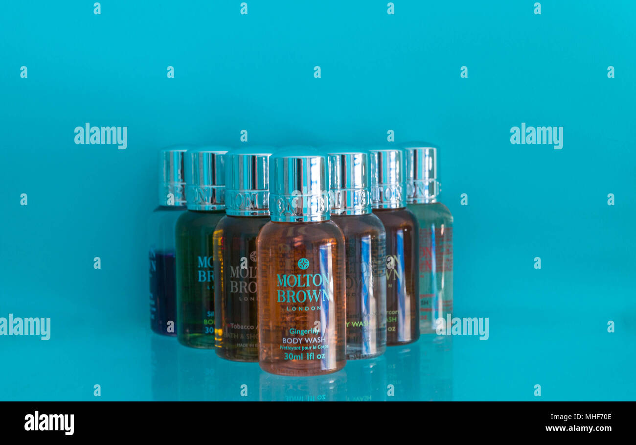 Body wash by Molton Brown of London - Stock Image