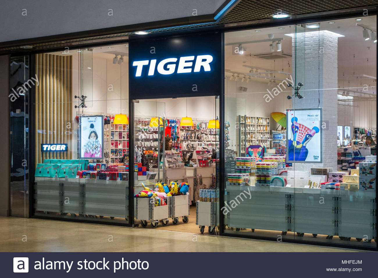 Tiger retail store in Queensgate Shopping Centre