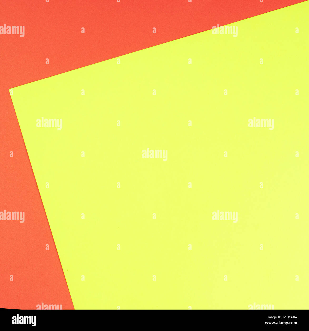Color papers geometry flat composition background with yellow and ...