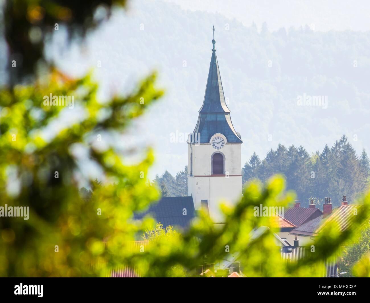 Delnice in Croatia - Stock Image