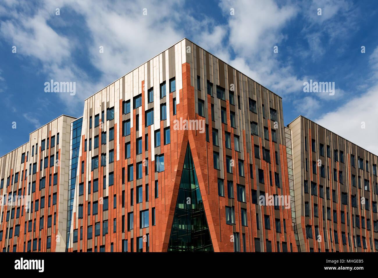 Free and Hanseatic City of Hamburg. Freie und Hansestadt Hamburg. Stock Photo