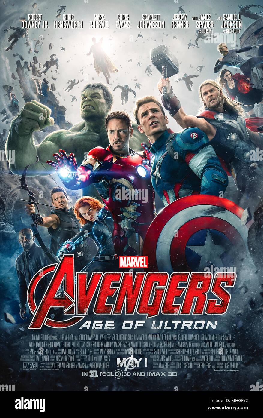 Marvel Avengers Regenschirm mit Ironman Thor und Captain America