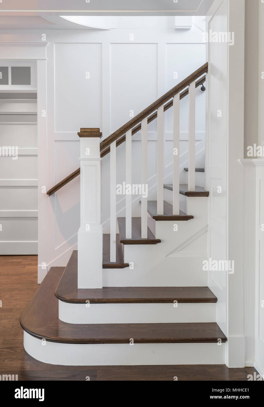 Merveilleux Staircase Steps Side View Stock Photo: 182935817   Alamy