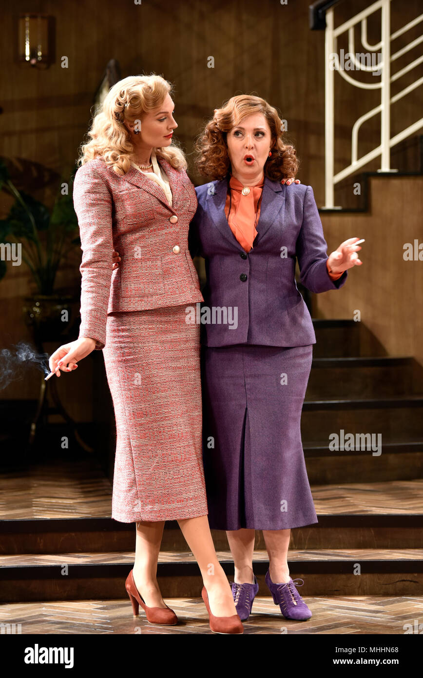 Tracy-Ann Oberman (playing Monica Reed, right) & Katherine Kingsley (playing