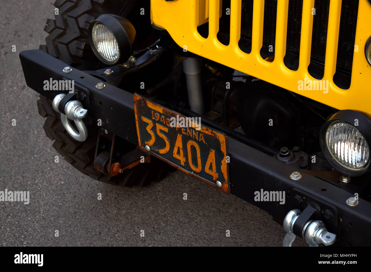 Yellow License Plate Stock Photos & Yellow License Plate Stock ...