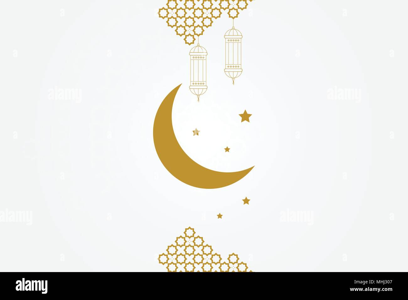 Crescent Moon Lamp. Crescent Moon Lamp With Crescent Moon
