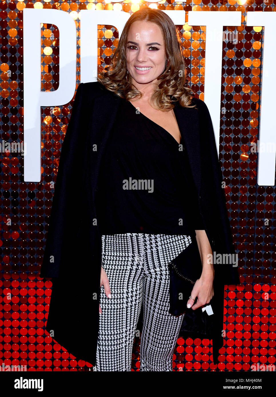 Emma Conybeare attending the special screening of I Feel Pretty held at the Picturehouse Central, Piccadilly, London. - Stock Image