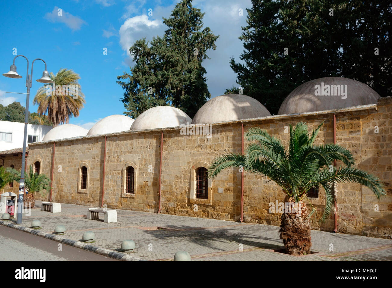 Mevlevi Shrine Museum, a former 17th-century tekke of mystic Islamic sect known as Mevlevi order (whirling dervishes), North Nicosia, Northern Cyprus - Stock Image