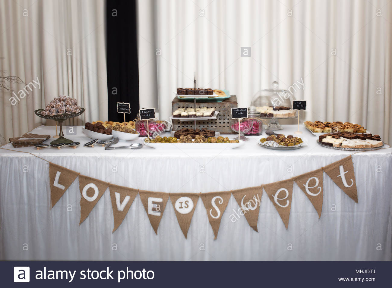 Wedding Reception Set Up Stock Photo 182958850 Alamy