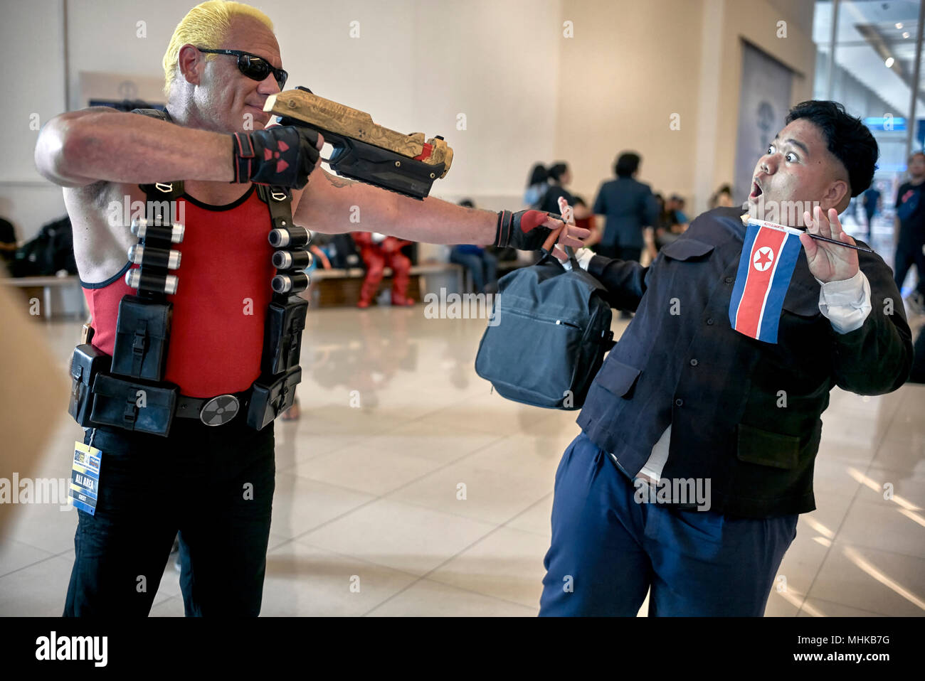 Comic Con and Cosplay costume event, Bangkok Thailand Southeast Asia - Stock Image