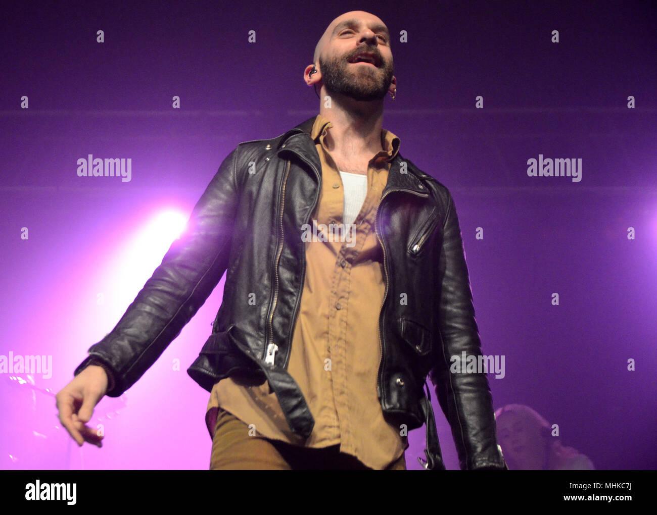 Milwaukee, Wisconsin, USA  29th Apr, 2018  Lead singer Sam