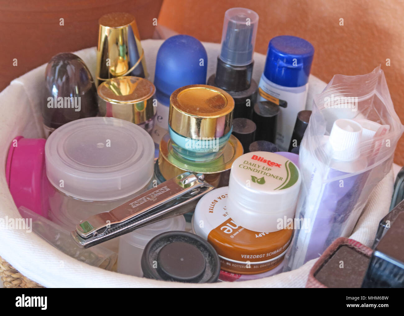 Common Toiletries - Stock Image