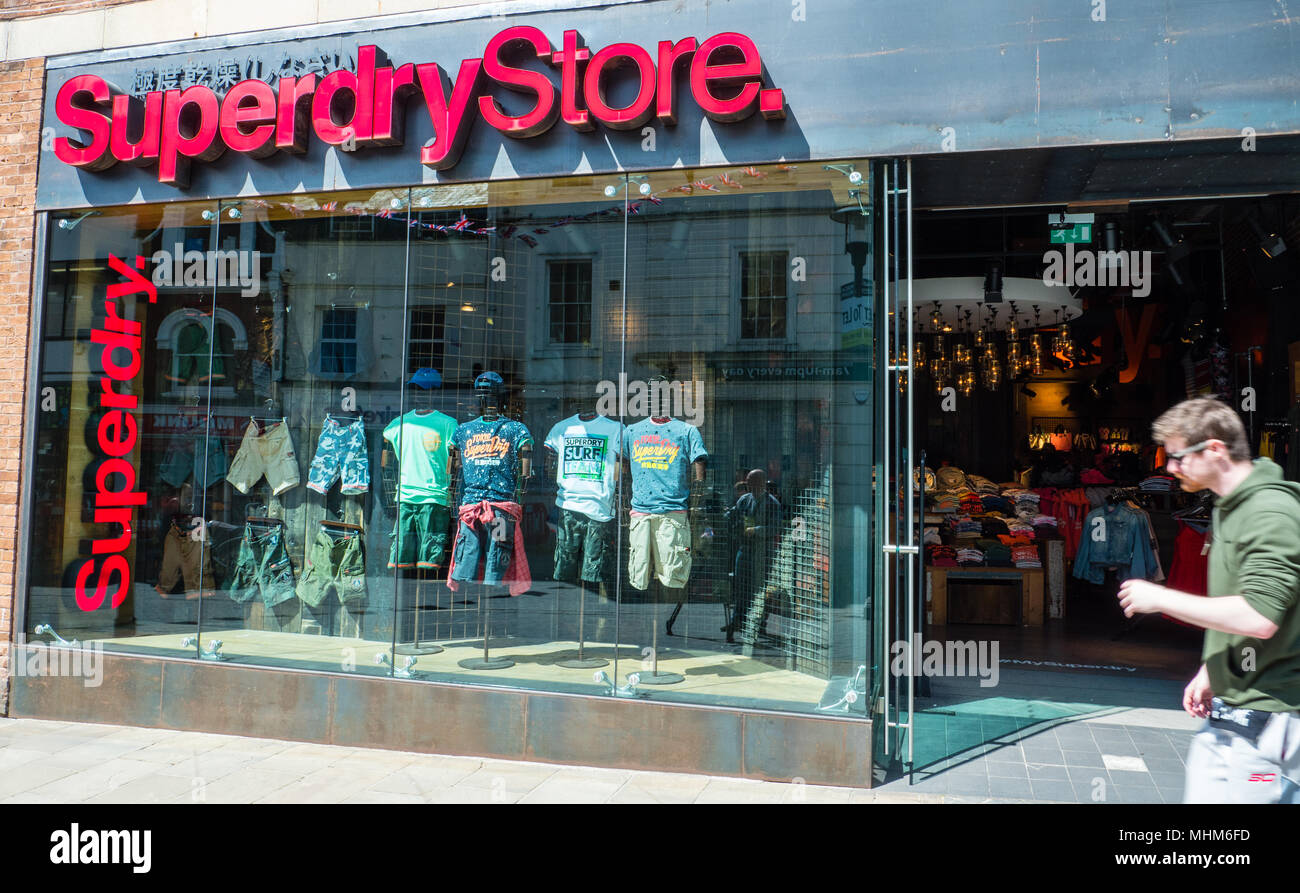 newest d2c63 2cbfc Superdry Store Stock Photos & Superdry Store Stock Images ...