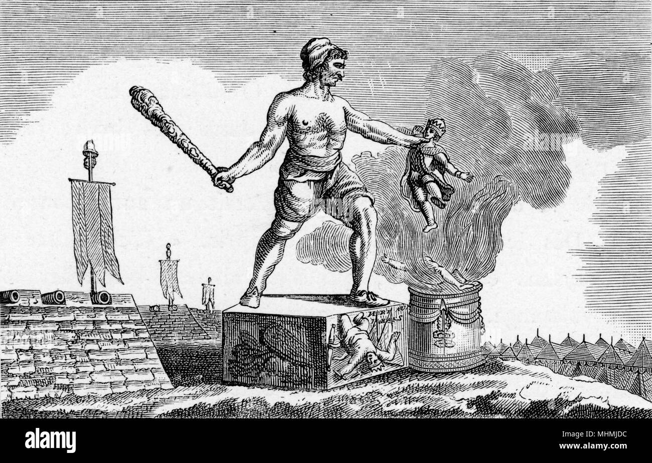 The revolution portrayed as the destroyer of tyrants.       Date: 18th century - Stock Image