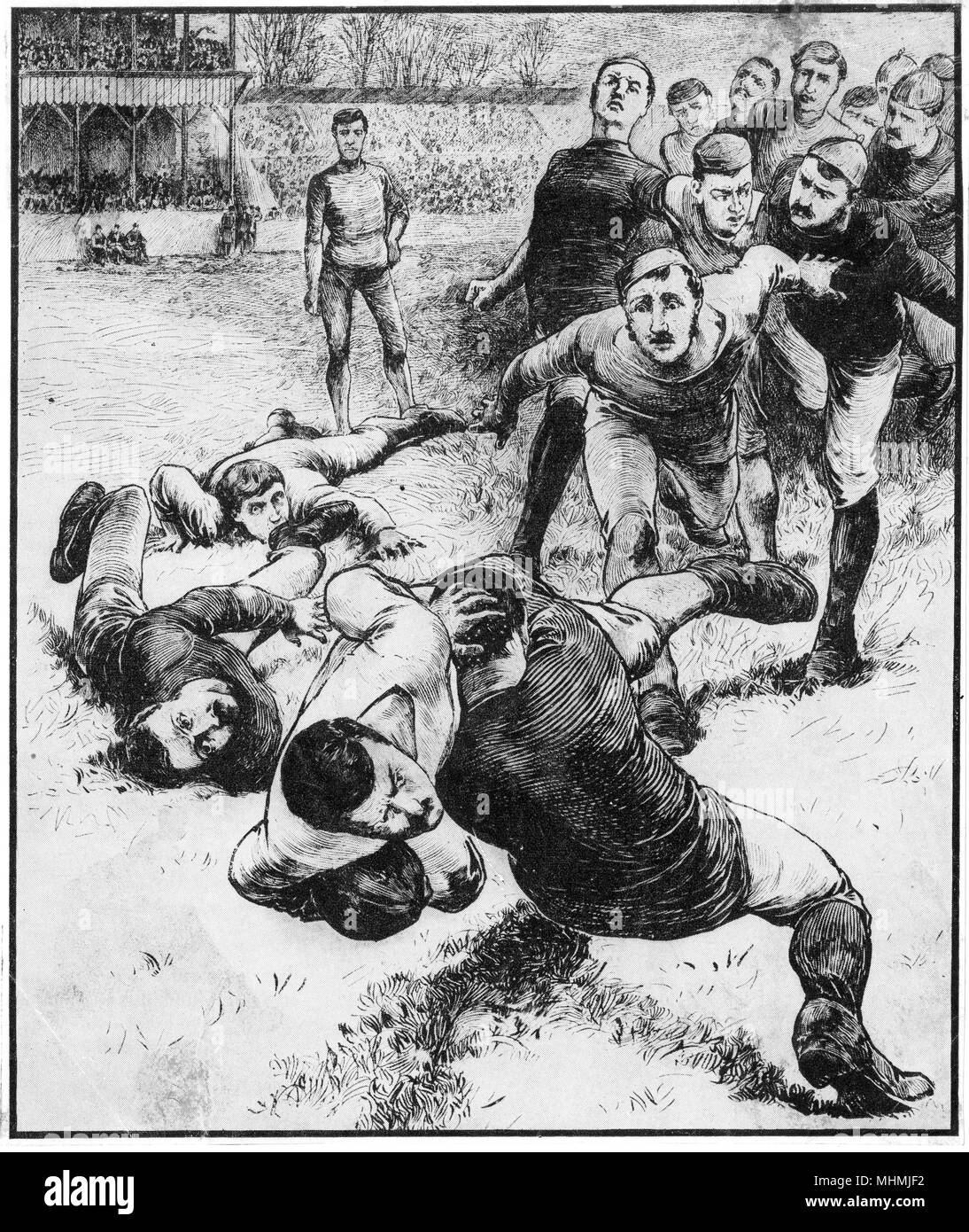 A Tackle        Date: 19th Century Stock Photo