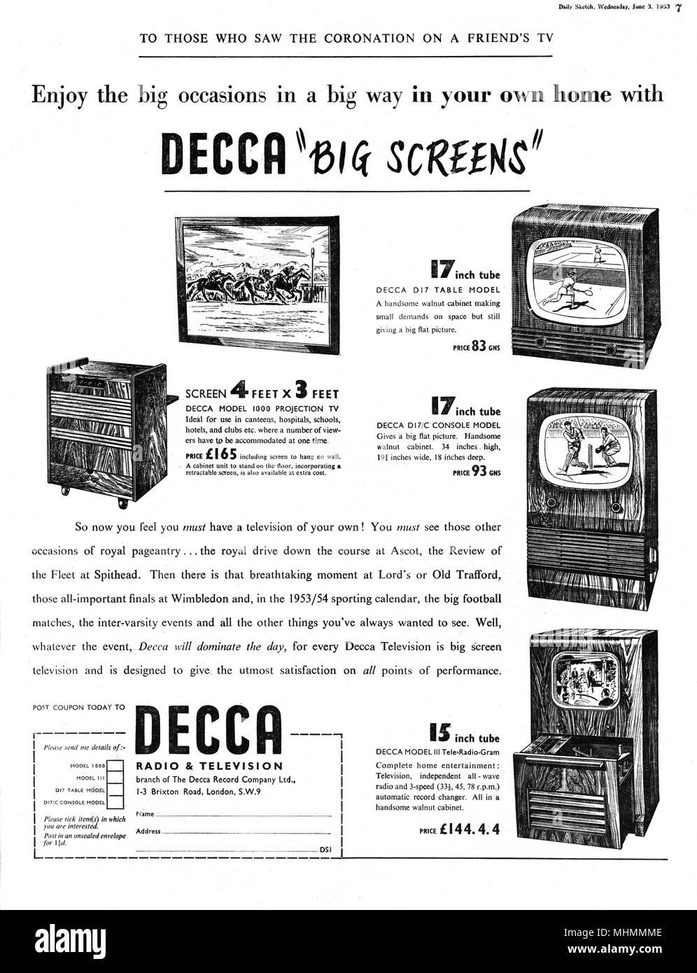 1953 Coronation Stock Photos 1953 Coronation Stock Images