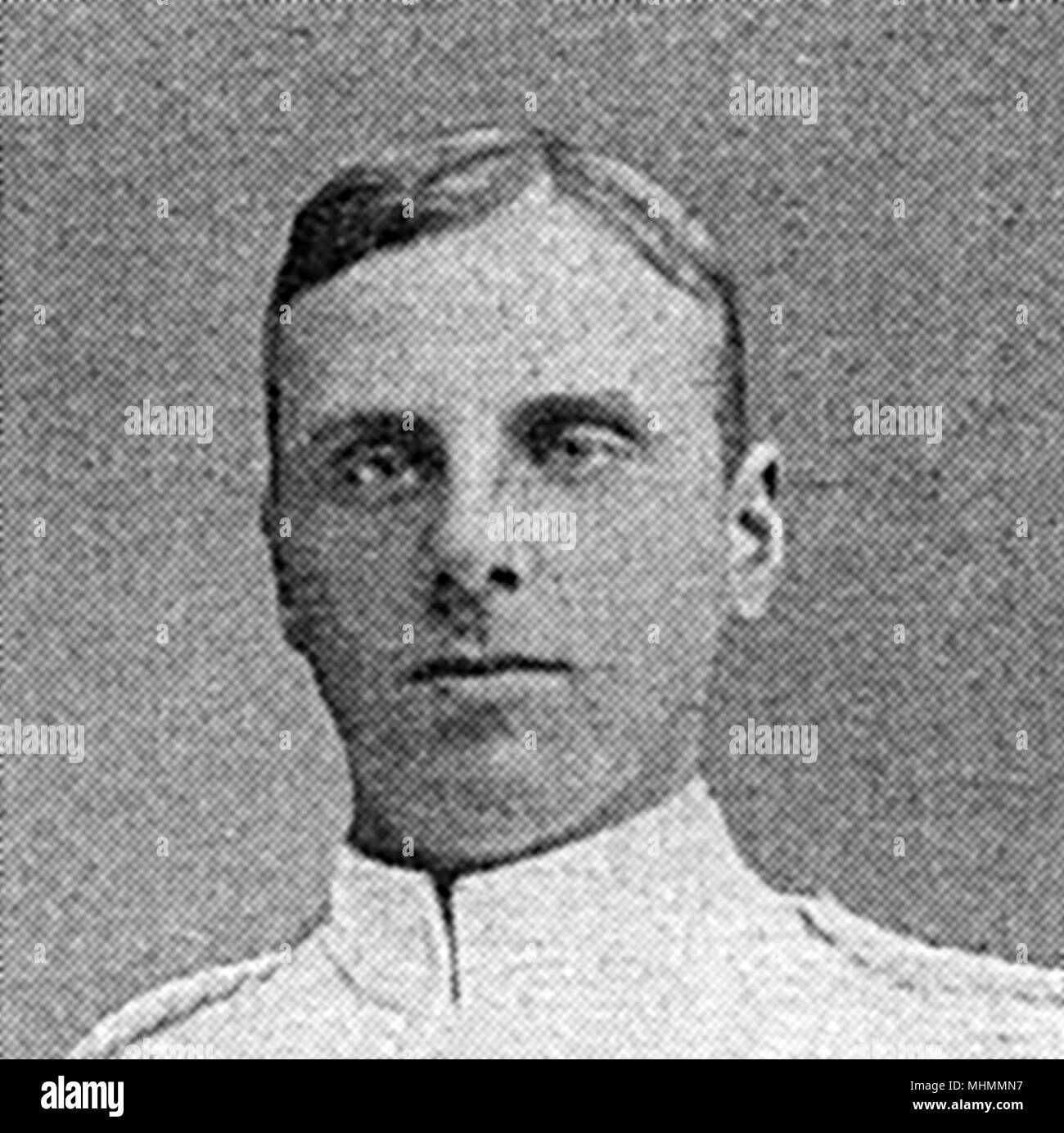 Lance-Corporal Wilfred Dolby Fuller (28 July 1893  22 November 1947), Grenadier Guards, who earned the Victoria Cross for bravery at the Battle of Neuve Chapelle.     Date: 1915 - Stock Image