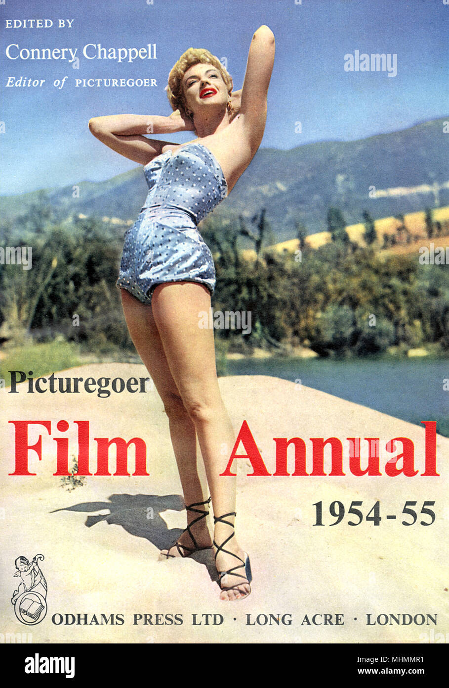Cover of the Picturegoer Film Annual, 1954-55, edited by Connery Chappell     Date: 1944-1955 - Stock Image
