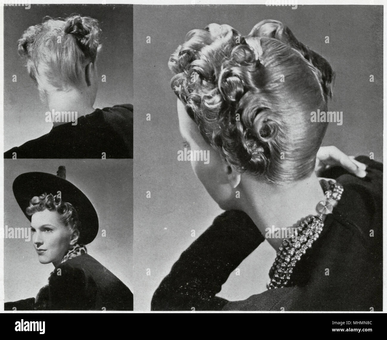 1930s hairstyle stock photos & 1930s hairstyle stock images