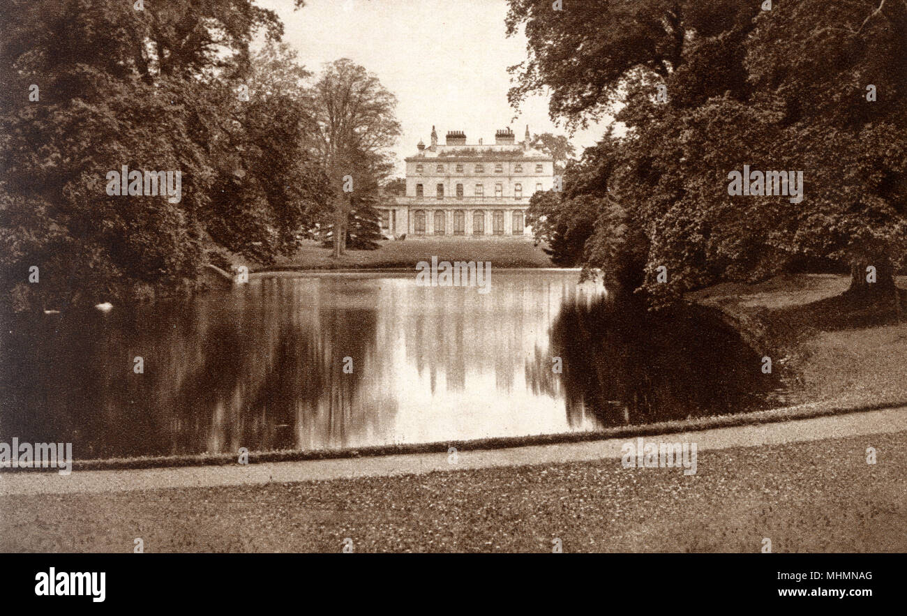 Frogmore House, purchased for King George III's wife, Queen Charlotte, in 1792 and used as a country retreat.     Date: circa 1897 Stock Photo