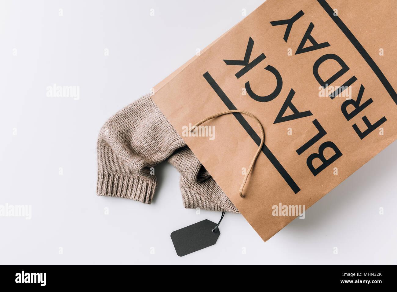 black friday - Stock Image