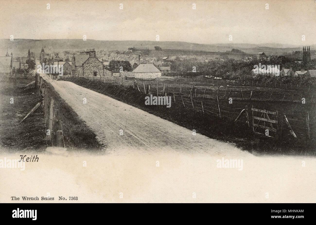 Banffshire, Scotland - Keith     Date: 1909 - Stock Image