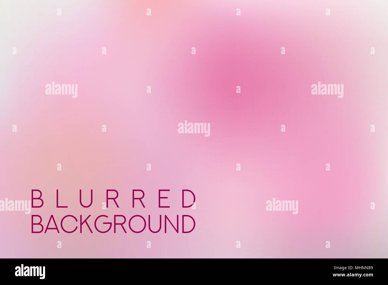 horizontal wide multicolored blurred background - Stock Vector