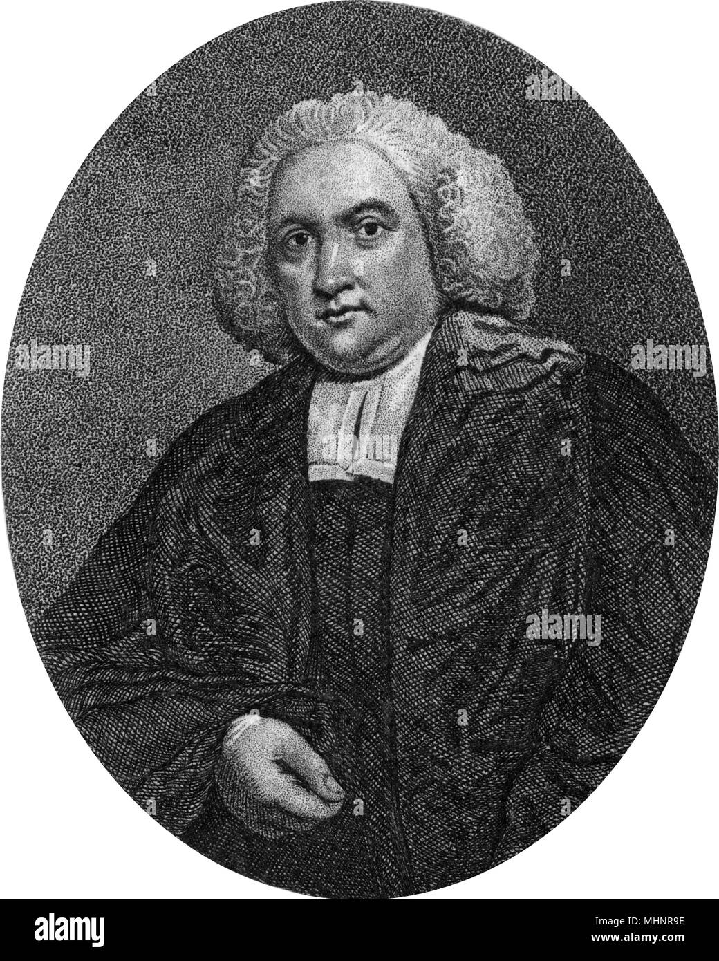 Doctor Joseph Warton (1722-1800) - English academic and literary critic.  Date: circa 1780s