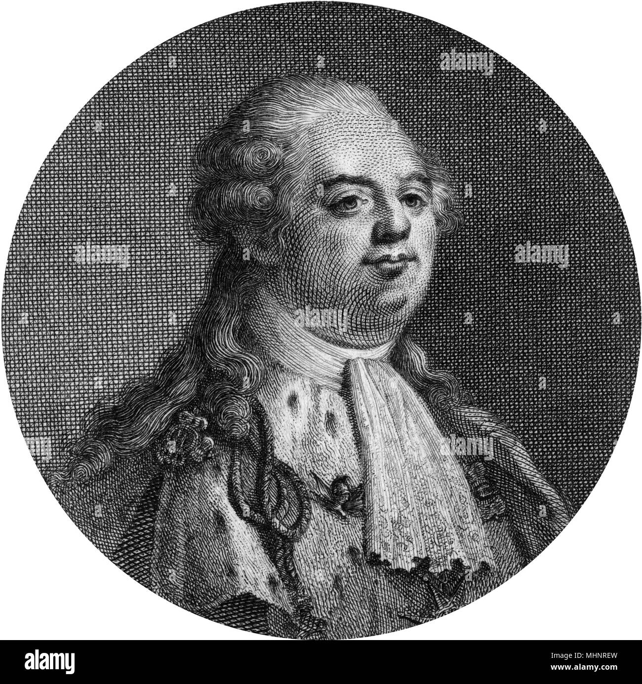 Louis XVI, King of France (1754-1793, reigned 1774-1792).     Date: circa 1790 Stock Photo