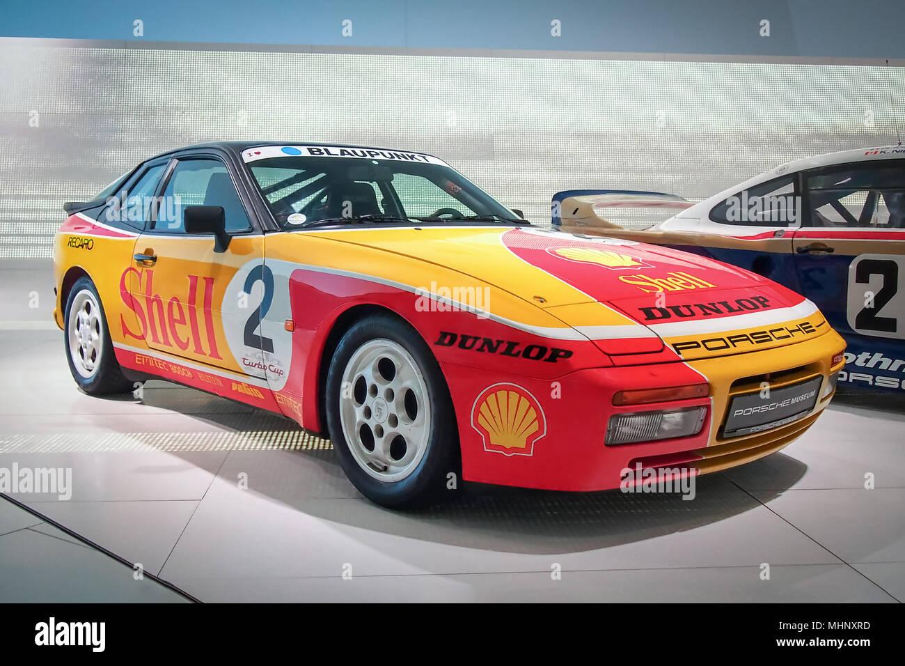 Stuttgart Germany April 7 2017 1988 Porsche 944 Turbo Cup In The Porsche Museum Stock Photo Alamy