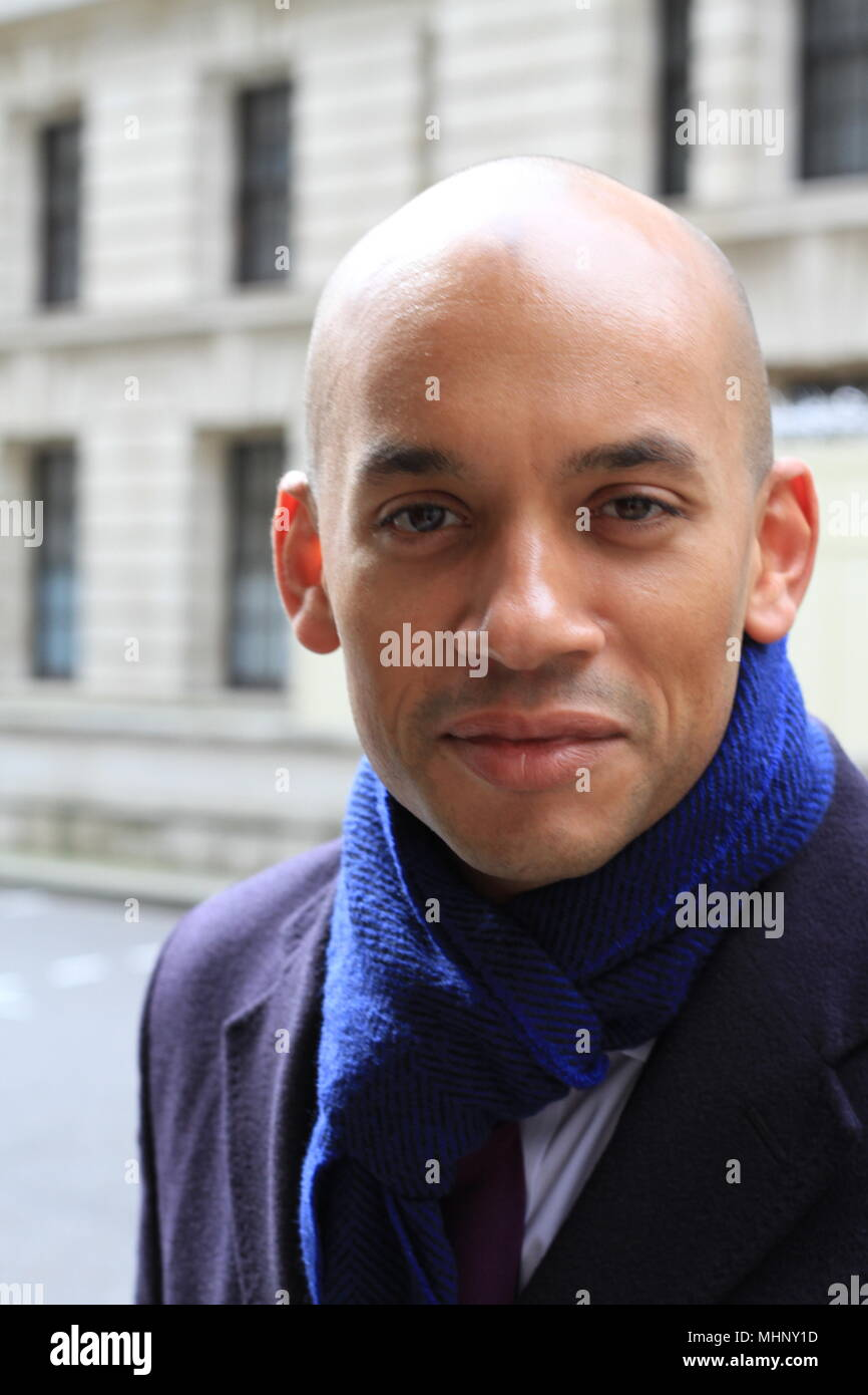 Chuka Umunna Labour party MP for Streatham constituency photographed with his verbal consent in Whitehall Court, Westminster, London, UK. on 26th March 2018. British Politicians. British politics. MPS. The Independent group. Spokesperson for independent group. Spokesman. Change UK. Russell Moore/Alamy. Stock Photo
