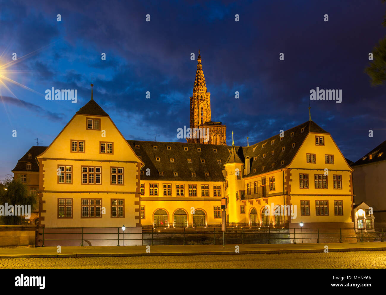 Historical museum of Strasbourg - Alsace, France - Stock Image