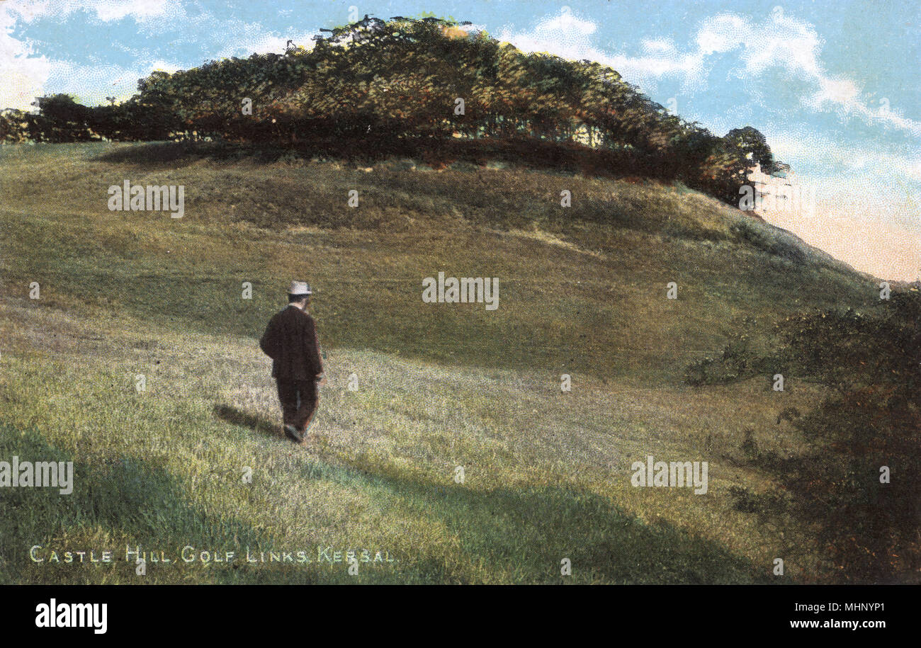 Castle Hill Golf Links, Kersal, Manchester Golf Club.      Date: circa 1906 - Stock Image